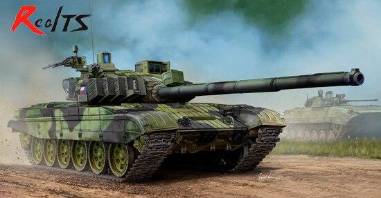 RealTS Trumpeter 1/35 Czech Army T-72M4CZ main battle tanks model kit spot model 05546 trumpeter 1 35 soviet t 10m heavy tanks