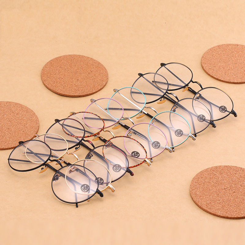 Frauen Optischen Rahmen Metall Marke männer brillen Linsen Computer ...