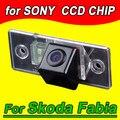 Para Skoda Fabia de 2008 para 2012 câmera de visão traseira de volta até reverter carro Kamera NTSC frete grátis Waterproof