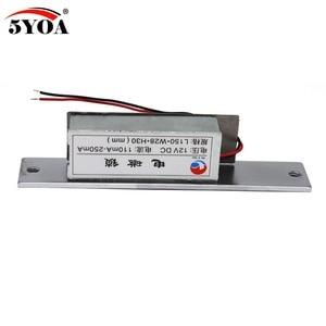 Image 5 - Fechadura elétrica para sistema de controle de acesso, fechadura 5yoa novo strikel01