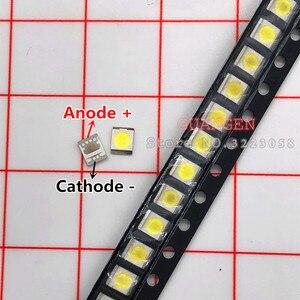 Image 2 - 500 個オリジナルlgイノテックypnl led lcdバックライトtvアプリケーションledバックライト 1 ワット 3v 1210 2835 クール白色led液晶
