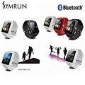 Symrun Роскошные Bluetooth Obangle Фитнес-Smart Watch Браслет U8 Наручные Часы Suppor Android Мобильного Телефона дешевый smart watch