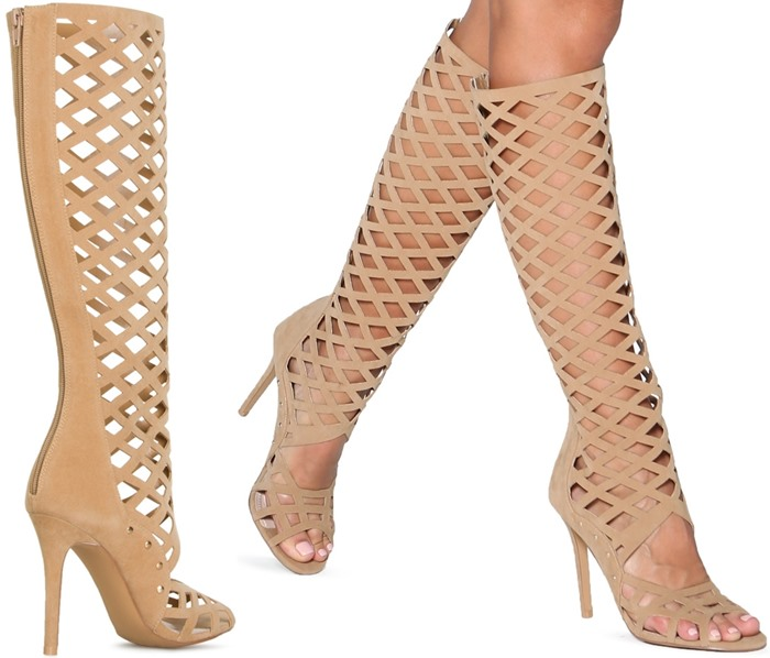 Hot Sale Promotion Summer Party Club Dress Shoes Women High Heel Sandal Boots Fashion Gladiator Strappy Sandals Wholesale