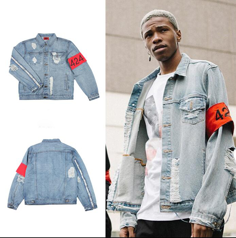 Popular Ripped Denim Jacket-Buy Cheap Ripped Denim Jacket lots ...