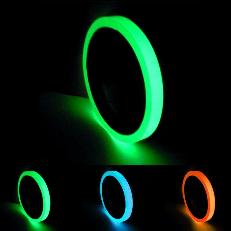 1Pcs  Luminous Tape Night Vision Glow In Dark Self-adhesive Warning Tape Safety Security Home Decoration Tapes #03141Pcs  Luminous Tape Night Vision Glow In Dark Self-adhesive Warning Tape Safety Security Home Decoration Tapes #0314