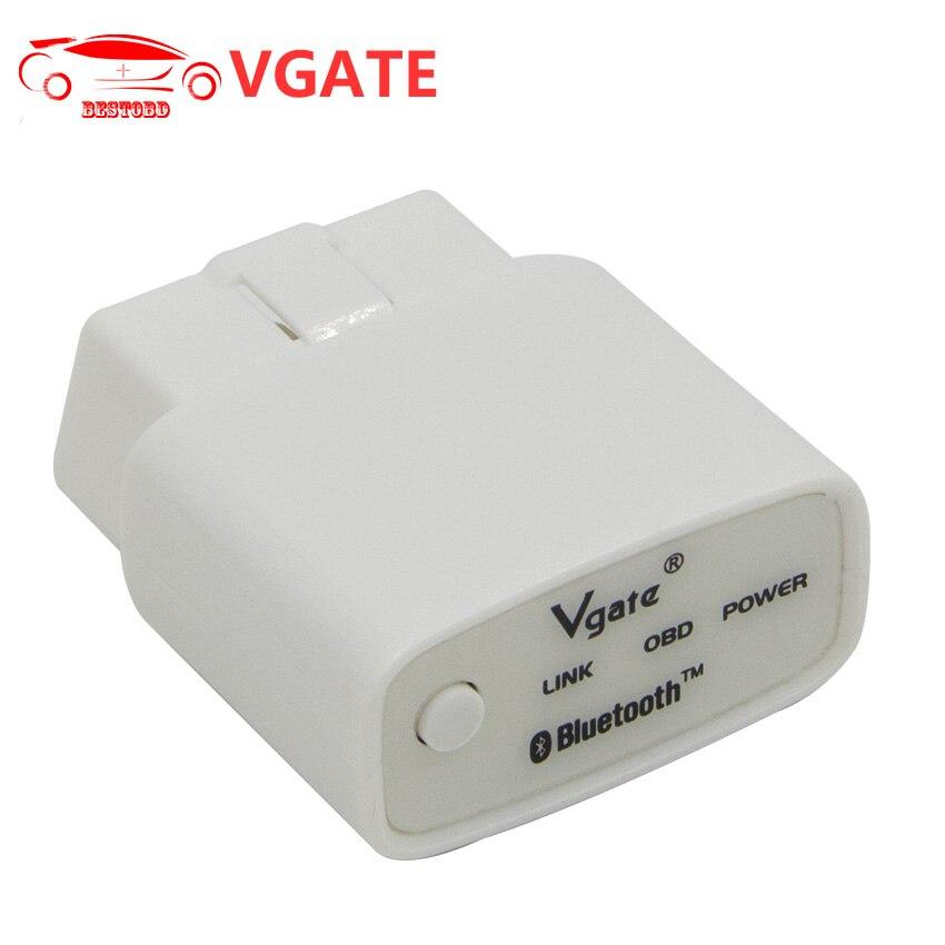 Prix pour Vgate iCar1 ELM327 V2.1 Bluetooth 3.0/iCar1 WIFI V2.1 avec Interrupteur OBD2 Diagnostic Scanner Soutien J1850 Protocole