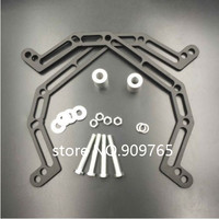 Lowers Front Suspension 4 and Widens by 2 Fit For Polaris Predator 500 2003 2007(Original stock A Arms Only)