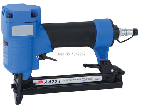 Comprimento da Haste: Grampeador Indiferente Coroa Pneumático J422-c 4mm u Estilo 10-22mm 4-7bar 60-110psi Air