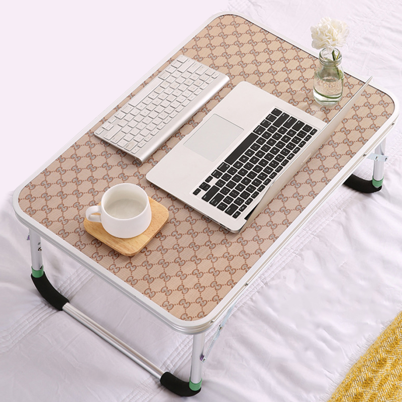70x47 5x31cm Portable Folding Laptop Table Iron Stock Sofa Bed Office Laptop Stand Desk Computer Notebook