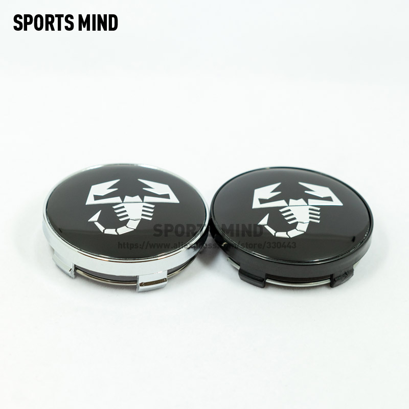 Wheel Center Caps Emblem for BMW Carstore Set of 4 68mm Rim Center Hub Caps for BMW Wheels Logo Black /& White Color