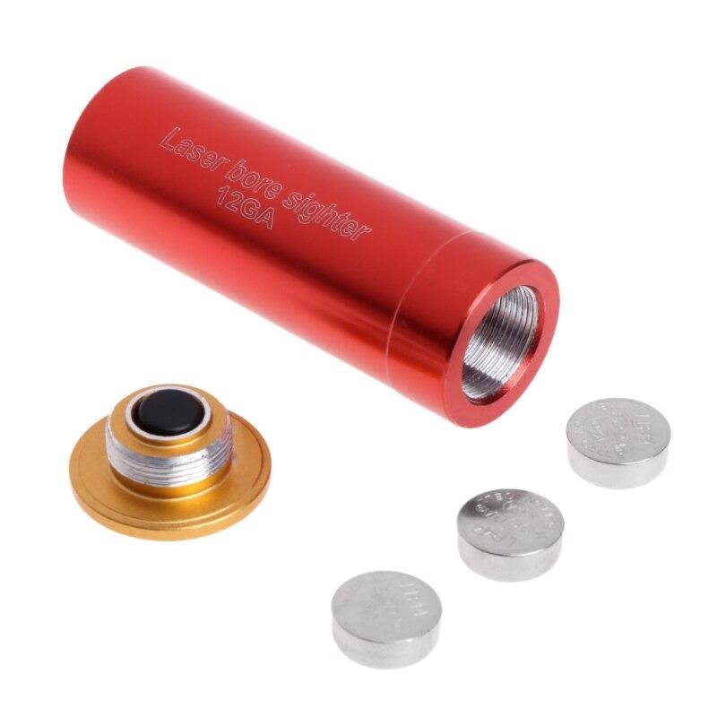 Cartucho de cilindro de calibre 12 para longitud de onda láser calibre 12GA 635-655nm 1 Uds. Punto rojo 5 unidades/unids/lote 650nm 5 mW Módulo de línea láser rojo 3VDC 120 grados C 12X35mm