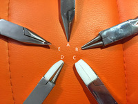 Free Shipping Jewelry Pliers Tools Set for DIY Cutting stainless Steel GLASSES REPAIR PLIER