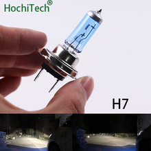 Одежда высшего качества H7 галогенные лампы 6000 K 12 V 100 W 55 W 3000Lm ксеноновые Темно-Синий Super White кварцевые Стекло автомобиля заменяемая лампочка для фар
