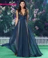 CloverBridal Sexy Cut Out Bodice Tencel A Line Celebrity Dresses Vestido Celebridades Red Carpet Long 2017