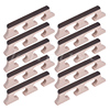 Banjo Bridge For 4 String Banjo Guitar Parts Replacement Rosewood Maple Pack Of 10