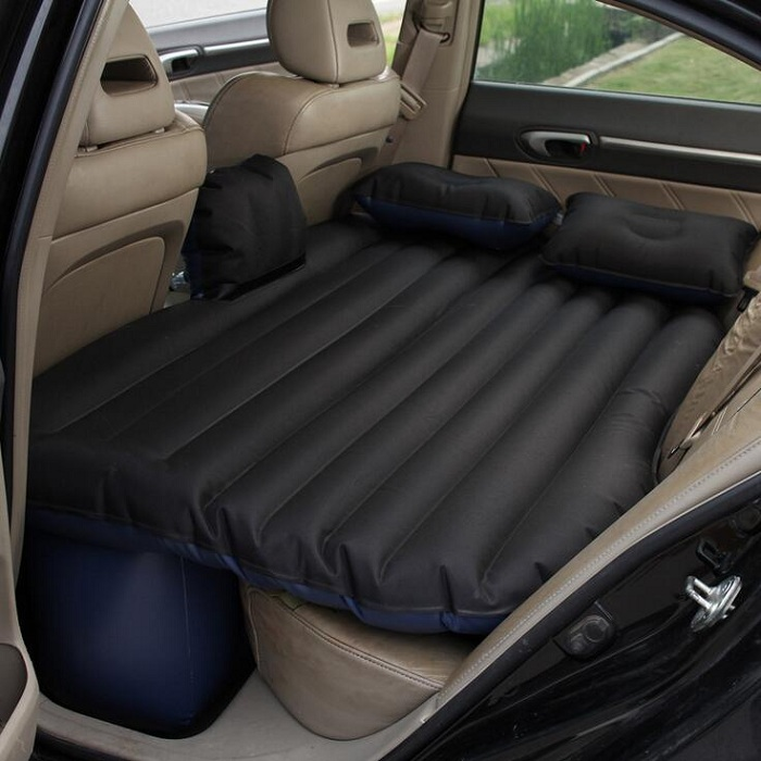 Universal Car Travel Bed Cushion Seat Cover Air Travel Mattress Inflatable Bed waterproof oxford fabric durable betos car air mattress travel bed auto back seat cover inflatable mattress air bed good quality inflatable car bed for camping