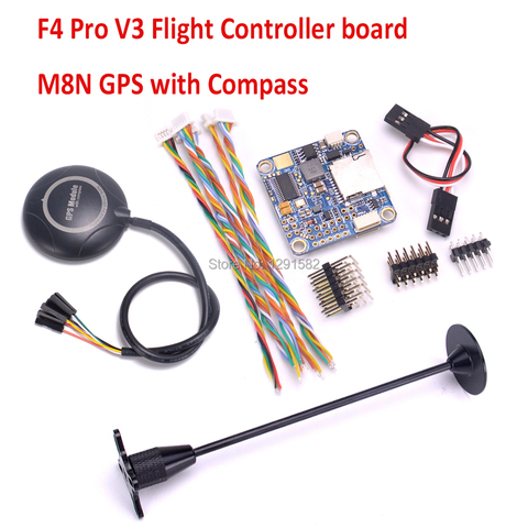 F4 Pro V3 / FLIP 32 F4 V2 PRO flight controller board / M8N GPS with compass For FPV VX210 Drone Quadcopter Pakistan