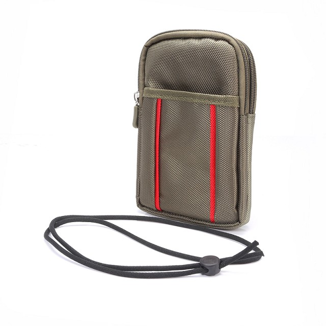 Outdoor Climbing Belt Clip Hook Loop Mobile Phone Case Dual Zipper Pouch For Galaxy S8/S8 Plus/S7 Edge/S6 EDGE Plus/A7/A8/A9/A3