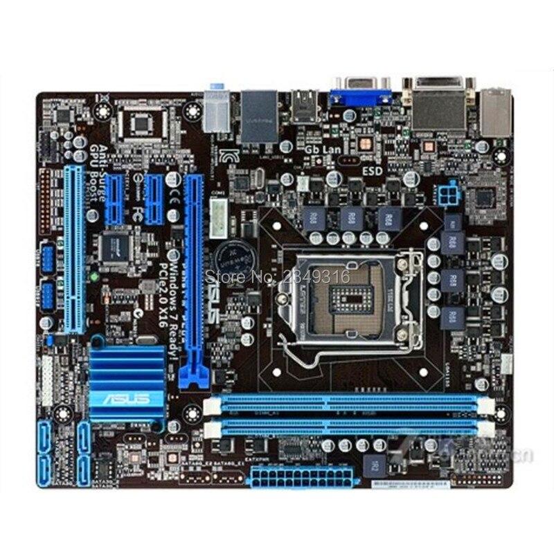 Pour Asus P8H61 M PLUS carte mère de bureau H61 Socket LGA 1155 i3 i5 i7 DDR3 carte mère originale d'occasion-in Cartes mères from Ordinateur et bureautique on AliExpress - 11.11_Double 11_Singles' Day 1