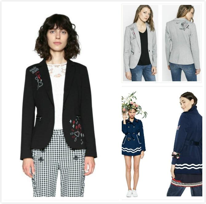 Alharbi 2019 Frühling Neue Männer Jacke Outwear Bomber Abzeichen Bestickt Mantel Jacken