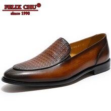 Men Casual Shoes Genuine Leather Dress Shoes Men Formal Shoes Brown Black Slip-on Fashion Wave Points Pointed Toe Man Dress Shoe цена в Москве и Питере
