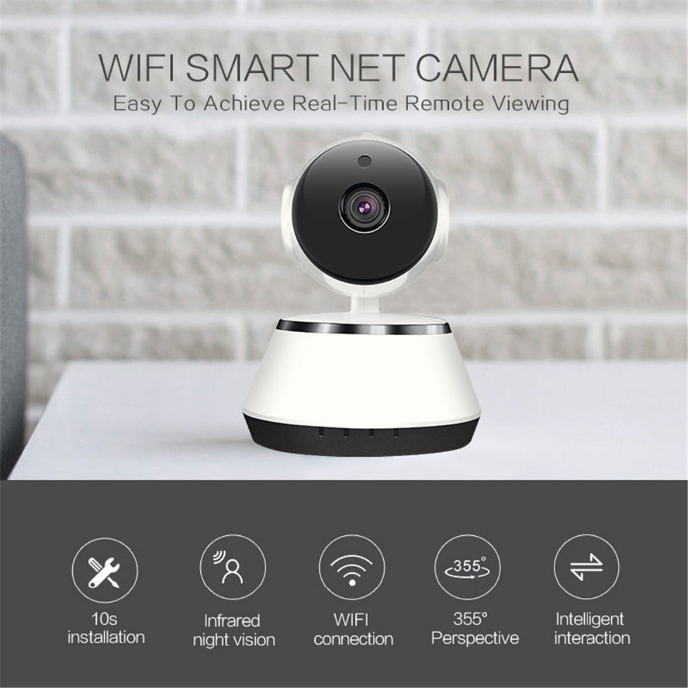 Meisort HD 720P Wireless Mini IP Camera Wifi CCTV Camera Indoor Security Video Surveillance Camera Night Vision IR Baby Monitor howell wireless security hd 960p wifi ip camera p2p pan tilt motion detection video baby monitor 2 way audio and ir night vision