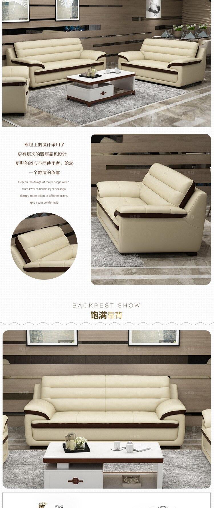 2017 neue design italien Moderne ledersofa, weiche komfortable ...