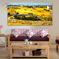 50 100 Large Coloring By Numbers Wall Picture For Living Room Decorative Canvas Oil Painting By