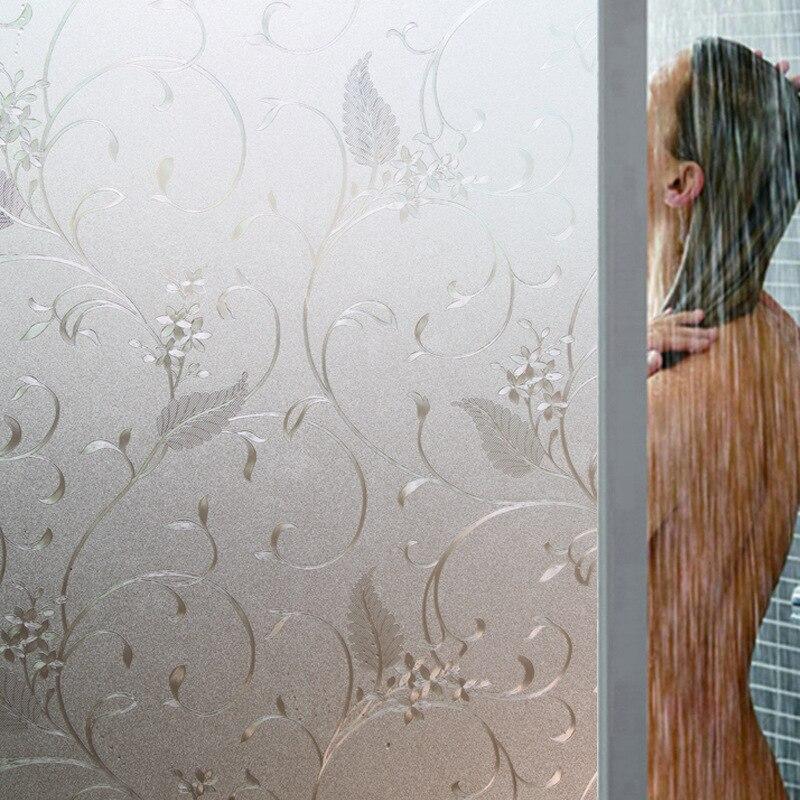 Traslucido Opaco Window Film Privacy Complementi Arredo Casa Elettricità Statica Finestra di Stampa Sticker Pellicola Per Vetri E Finestre