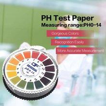 цены 5m 0-14 PH Test Paper Alkaline Acid Indicator Meter Roll For Water Urine Saliva Soil Litmus Accurate Testing Measuring Pool