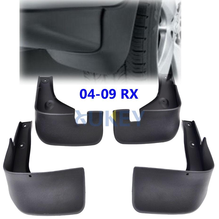 Lexus 2005 Rx330: Set Car Mud Flaps For Lexus RX330 RX350 RX400h 2004 2009