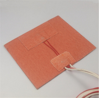 Ultimaker 2 GO 3D Printer Parts Upgrade Silicone Rubber Heater Mat Heated Bed PT100 Sensor For