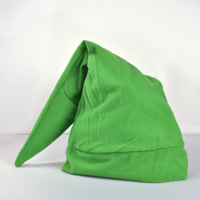 Green Legend of Zelda Link Hat Cap Anime Game Cosplay NEW-in Costume ...