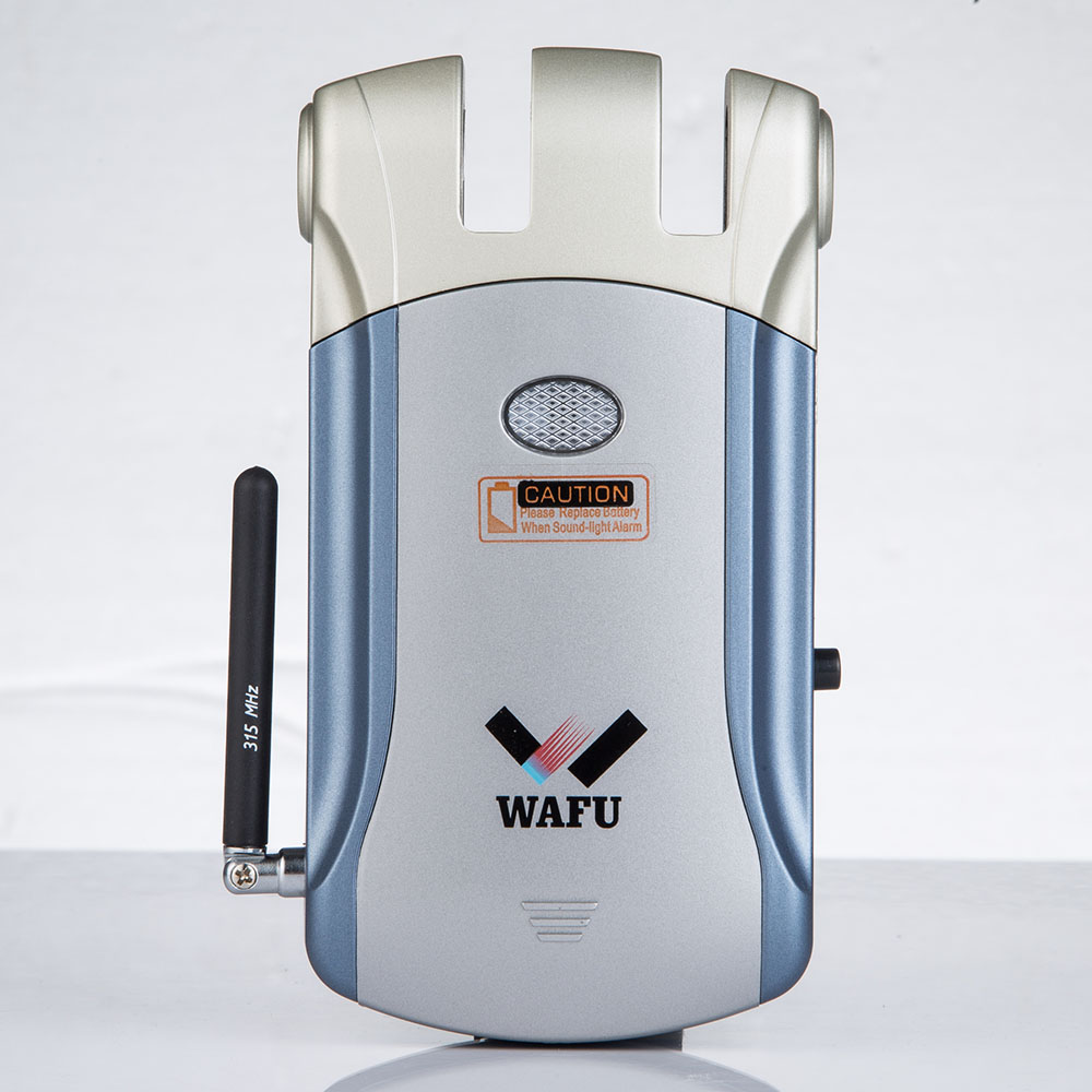 WAFU WF-08 Casa Controle Remoto Anti-roubo Embutido Bloqueio Terminator Remoto Fechadura Da Porta de Segurança Em Casa Inteligente de Roubo