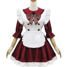Disfraces de Halloween Para Las Mujeres Japonesas Lolita Vestido Femenino Dama de Anime Cosplay Ropa Rendimiento Ropa Cafe ..
