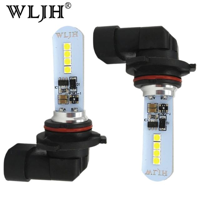 WLJH 2x LED 9006 HB4 デイタイムランニングライト DRL 9006 フォグランプ 10 ボルト 30 ボルト駆動用カローラカムシエナシエナ
