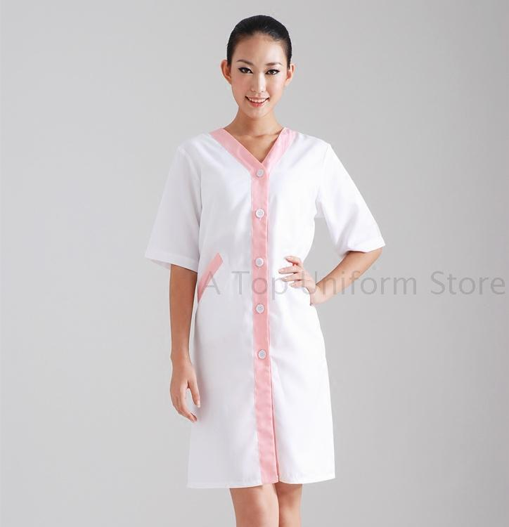 Popular dental uniform buy cheap dental uniform lots from for Spa uniform indonesia