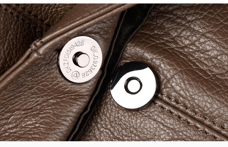 Arliwwi marca designer de alta qualidade couro