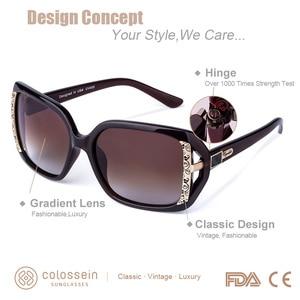 Image 2 - COLOSSEIN MSTAR サングラス女性偏光 2019 新ファッションサングラス高級段階的な光ソフトクラシック眼鏡 UV400