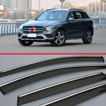 Окно Ветер Дефлектор козырек Дождь/Защита от солнца вентиляционное отверстие для Benz GLC класс X205