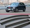 Окно Ветер Дефлектор Козырек Дождь/Вс Гвардии Vent Для Benz GLC Класса X205 2015 2016 2017