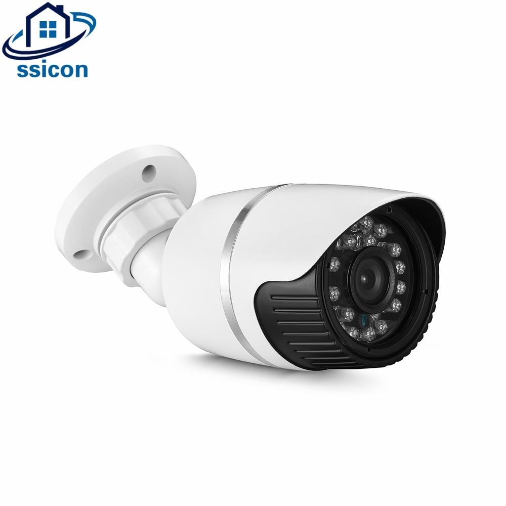 SSICON 4MP 3.6mm Lens 24Pcs Leds IR AHD CCTV Camera OV4689 CMOS Sensor Bullet Outdoor Analog Surveillance Security CameraSSICON 4MP 3.6mm Lens 24Pcs Leds IR AHD CCTV Camera OV4689 CMOS Sensor Bullet Outdoor Analog Surveillance Security Camera