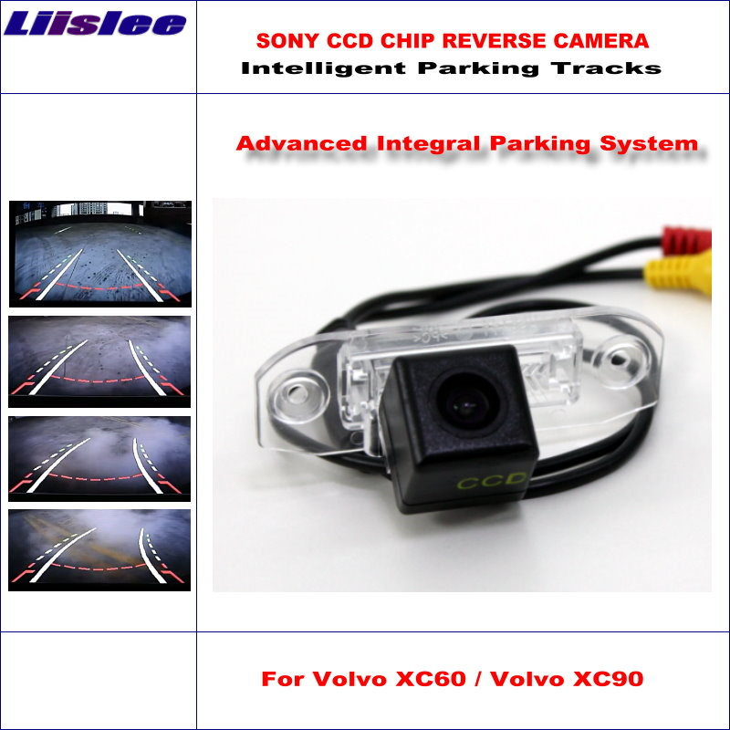 Liislee Car Rear Camera For Volvo S60 S60L XC60 XC90 2007~2015 Rearview Parking Camera/ 580 TV Lines Dynamic Guidance Tragectory 860 576 pixels back up camera for renault megane 3 iii 2008 2016 rearview parking 580 tv lines dynamic guidance tragectory