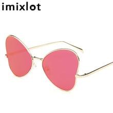 IMIXLOT Lip Heart Shaped Lovers Couple Sunglasses Transparen