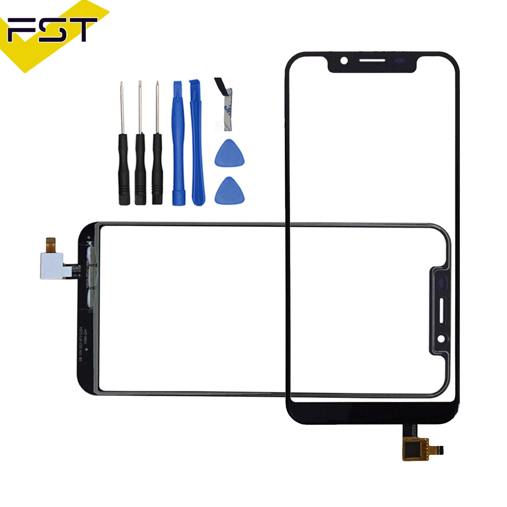 For Oukitel U18 Touch Screen 5.85 Touch Panel Sensor Cell phone Accessories With Tools And Adhesive For Oukitel U18For Oukitel U18 Touch Screen 5.85 Touch Panel Sensor Cell phone Accessories With Tools And Adhesive For Oukitel U18