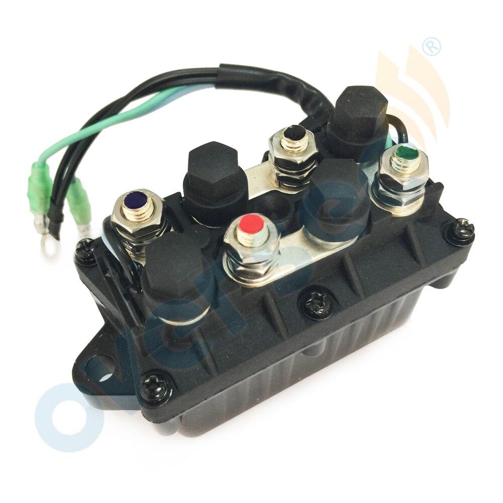 Надзор за отделкой реле подходит для YAMAHA подвесной 30-90л соленоида 6H1-81950-00 6H1-81950-01