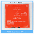 Novo RepRap 3D PCB Printer Heatbed MK2B cama Hot Plate para Prusa & Mendel MK2A aquecida MK1 vermelho preto! Bt0026-3d