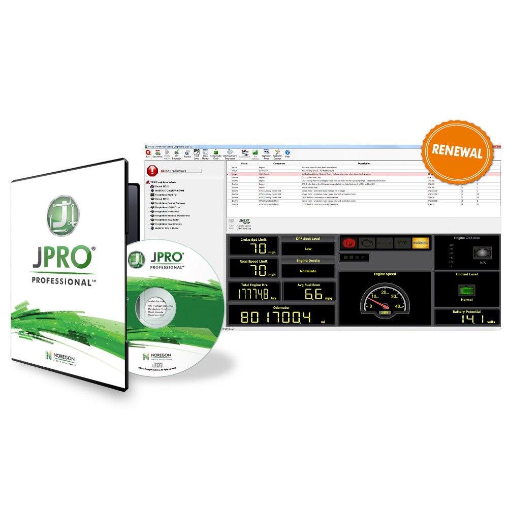 Image 4 - 2019 JPRO DLA+2.0 2016 V1.0  2017 V3 2019v1 software Vehicle Interface Diesel Heavy Duty Truck Scanner Fleet Diagnostic Tool on