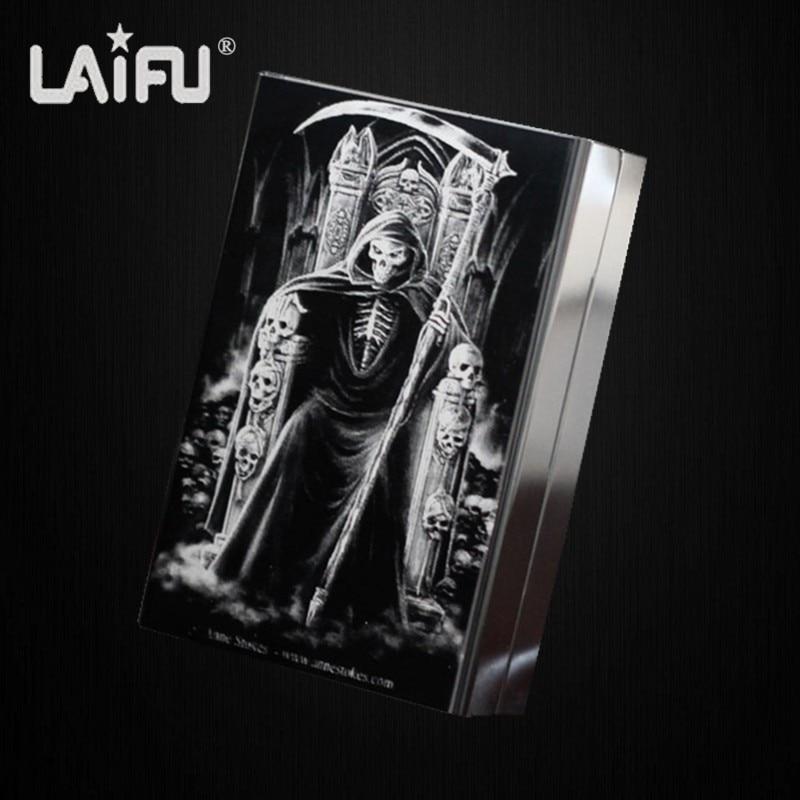 LAIFU Personalized ultra thin automatic cigarette case king s