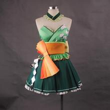 New Vocaloid GUMI Cosplay Costume Mercy Cosplay Fancy Dress Carnival/Halloween Adult Costumes for Women S-XL